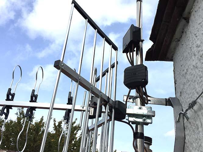 Cheddar Wells TV Satellite Installation